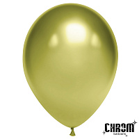 "Хром 12""""(30см) лайм (Chrome Metallic/ LIME Green ) 50шт/уп"